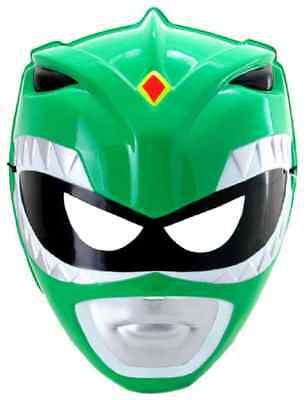 Green Ranger Mask Mighty Morphin Power Rangers Halloween Adult Costume Accessory (Green Power Ranger Mask)