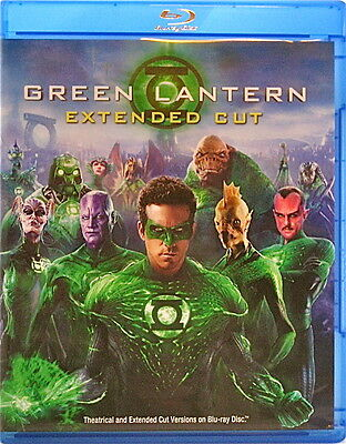 Green Lantern Movie Extended Cut Blu-ray + DVD 2 Disc Ryan Reynolds Blake Lively for sale  Stow