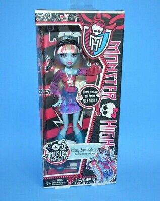 NEW 2012 Mattel MONSTER HIGH Music Festival ABBEY BOMINABLE Fashion Doll Yeti