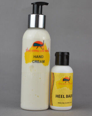 Natural Hand & Foot Care Set contains EMU OIL