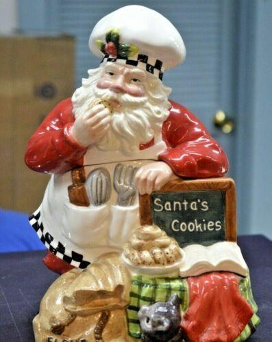 Home for the Holidays Baking Santa Santa