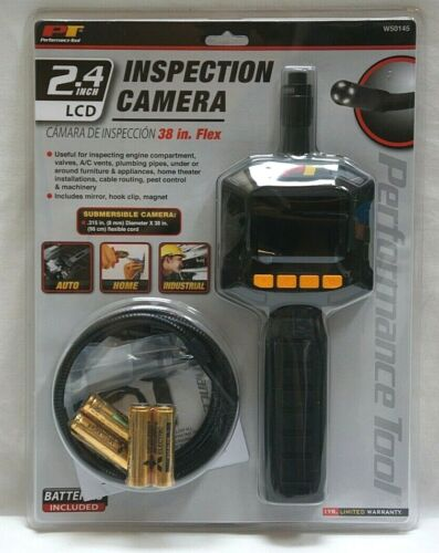 """Performance Tool 2.4"""" LCD Inspection Camera - W50145"""