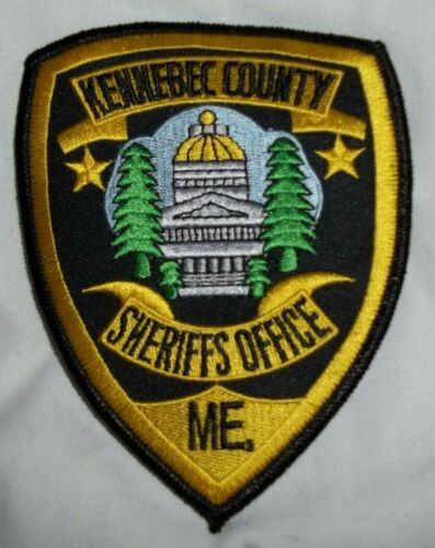 NEW Embroidered Uniform Patch KENNEBEC COUNTY SHERIFF