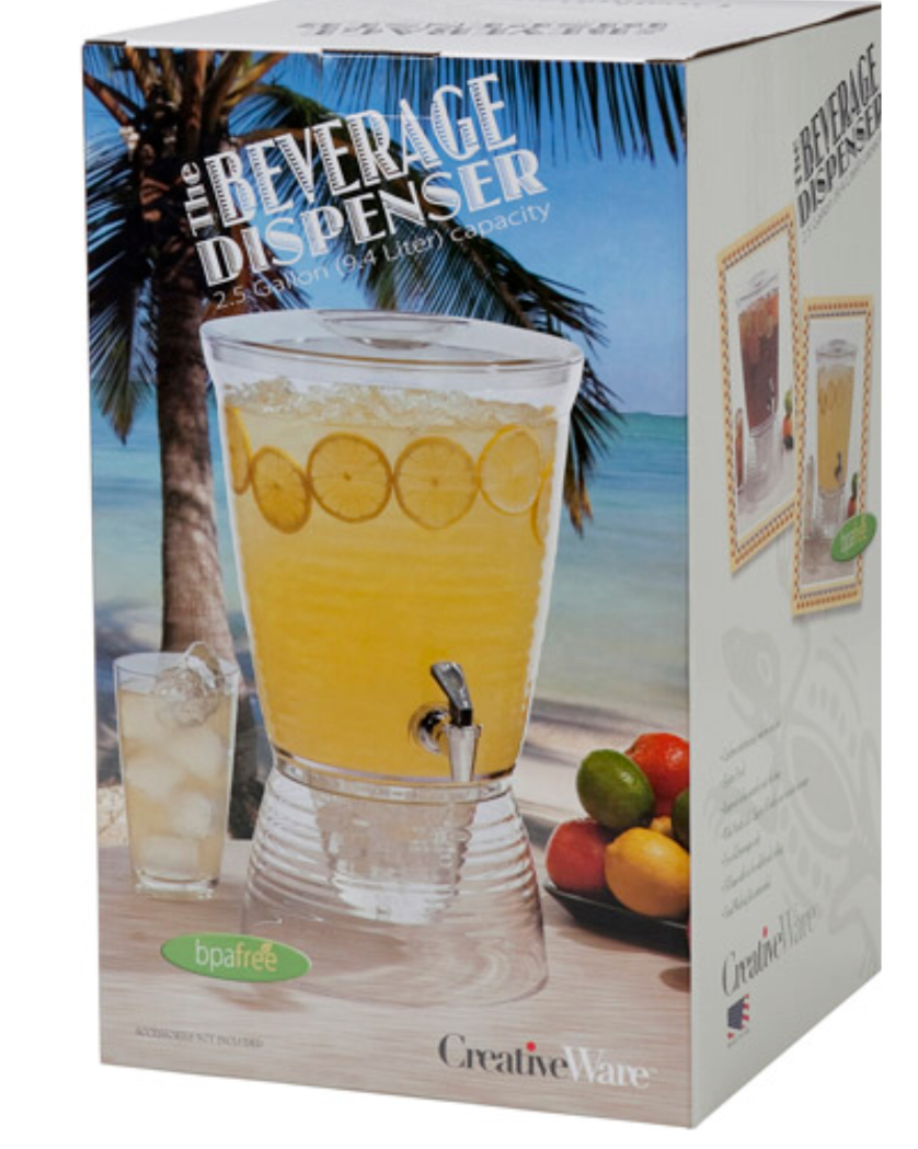 PARTY PUNCH ICE TEA COCKTAIL HOLIDAY BEVERAGE 2.5 Gallon Acr