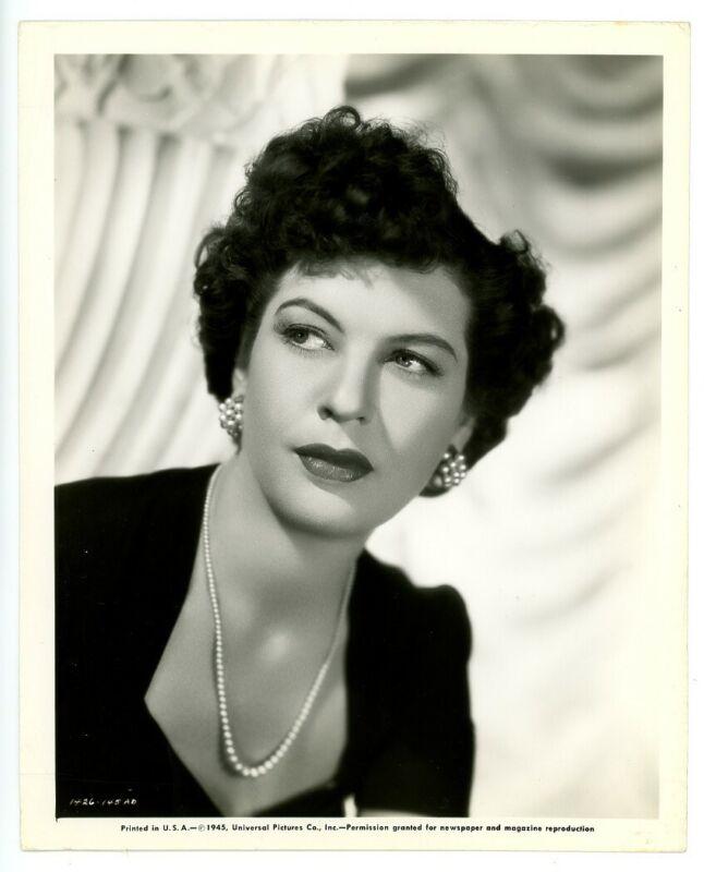 JACQUELINE deWIT original movie photo 1945 LADY ON A TRAIN