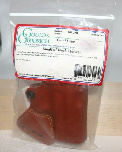 Gould & Goodrich 806-29R Gold Line Small of Back Holster