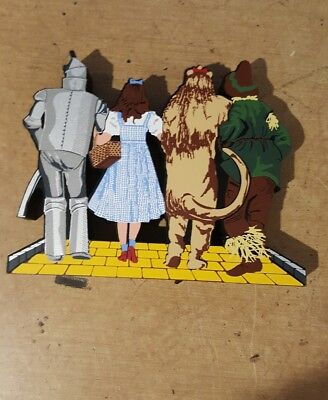 Shelia's Wizard of Oz characters hand painted Wood  Rare TO OZ 001](Wizard Of Oz Characters)