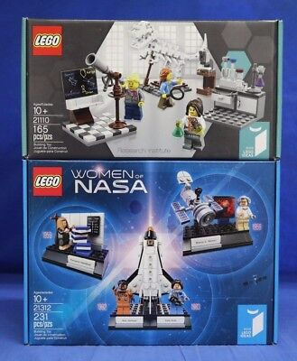 Lego Ideas Women Of Nasa 21312    Research Institute 21110 In Hand Sealed Boxes