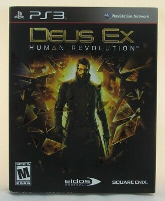 Used, Deus Ex: Human Revolution (Sony PlayStation 3, 2011) New for sale  Shipping to Nigeria