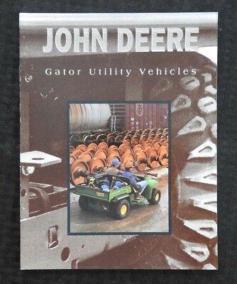 1997 John Deere 4x2 6x4 6x4 Diesel Gator Utility Vehicle Sales Brochure Mint
