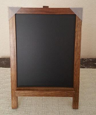 Wood ChalkBoard Blackboard Memo Message Board For Wedding Kitchen bar Note Sign