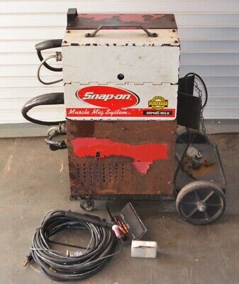 Snap On Mm140sl Mig Wire Welder With Tig Gun
