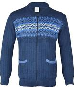 Mens Zip Up Cardigan