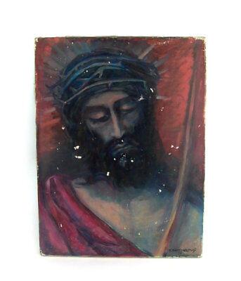 Ölgemälde Jesus - signiert  Barthelemy 1921