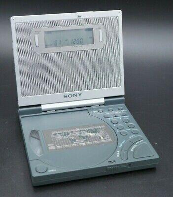 Vintage Sony ICF-CD2000 CD Clock FM/AM Radio w/ Backlit Display | Tested, Works