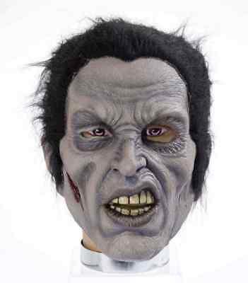 Rockabilly Mask Zombie Elvis Rock Star Fancy Dress Halloween Costume Accessory (Rockstar Zombie Halloween Costume)