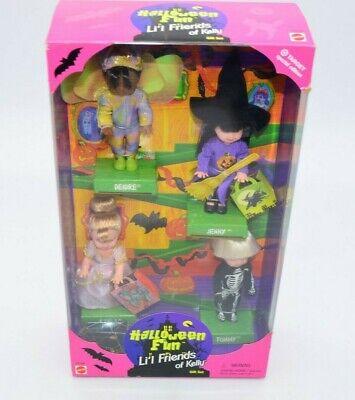 Halloween Fun Li'l Friends of Kelly Gift Set Special Edition 1998 Mattel #23796