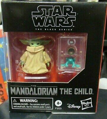 Baby Yoda THE CHILD Star Wars BLACK SERIES Mandalorian HASBRO Disney MIB Figure