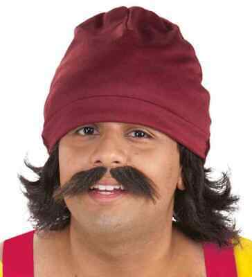 Cheech Kit Marin Chong 60's Hippie Dude Fancy Dress Halloween Costume Accessory - Chong Halloween Costume
