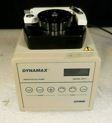 Dynamax Rainin Rp-1 Digital Bi-directional Variable-speed Peristaltic Pump