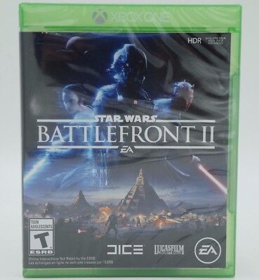 Star Wars  Battlefront 2 Ii Game Disc For Xbox One Brand New   Sealed