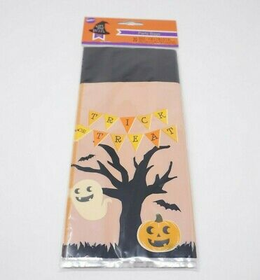HALLOWEEN Trick or Treat Scary Good Treats Gift Party Bags Cupcake Candy Treat