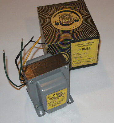 New Stancor P-8645 Controlrectifier Transformer Primary 117v Secondary 25.2v