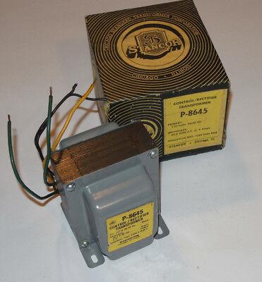 New Stancor P-8645 Controlrectifier Transformer Primary 117v Secondary 25.2v