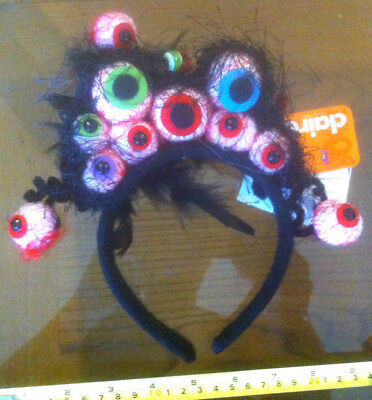 Scary Spider Kostüme (Scary Spider Eyes Head band Halloween Claire's Claires Accessories £8 RRP)