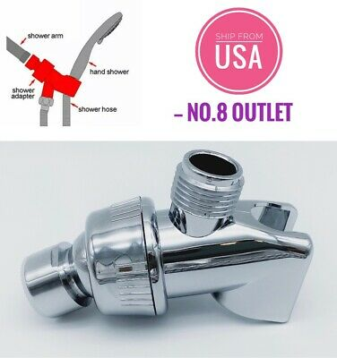Handheld Shower Head Holder Wall-mounted Adjustable Shower Arm Bracket Universal