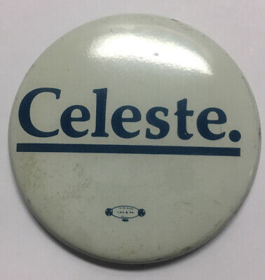 Governor Richard Celeste 64th Governor Of Ohio from 1983 to 1991 Pinback Button