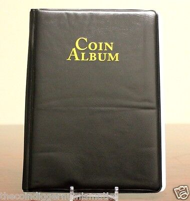 Whitman 60 Pocket Coin Stock Book Album for 2x2 Storage NEW IMPROVED