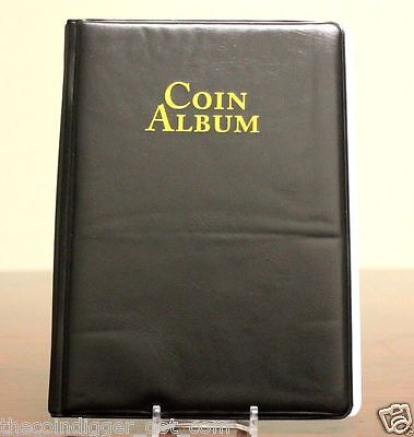 WHITMAN 60 Pocket Coin Stock Book Album for 2x2 Holders Storage Display