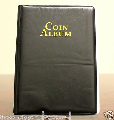 Whitman 60 Pocket Coin Stock Book Album For 2X2 Holders Storage Display Folder