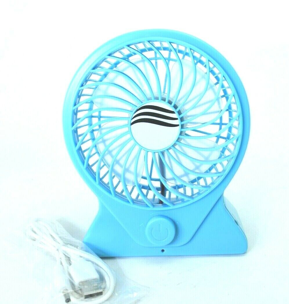 Mini Portable Fan Handheld Rechargeable USB Cooling Desk Fans