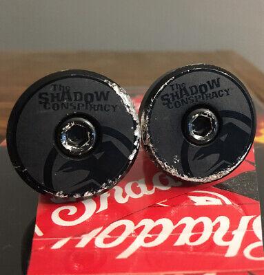 "SHADOW CONSPIRACY CROWBAR SG 4 pc BARS BMX FIT S/&M SE CULT HARO 8.7/"" CHROME NEW"
