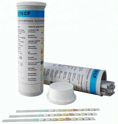 Accu-answer Uric 10 Health Parameters In Vitro Urinalysis - 100 Strips