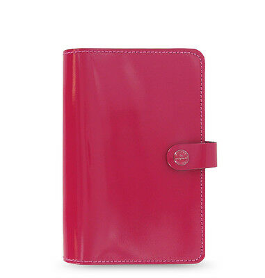 Filofax Personal Size Original Organiser Diary Fuchsia Red Leather -022432 Gift