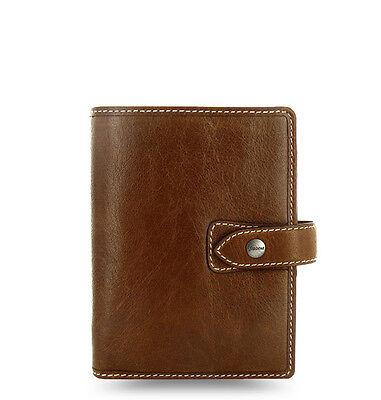 Filofax Pocket Size Malden Organiser Planner Diary Ochre Leather - 025842 Gifts