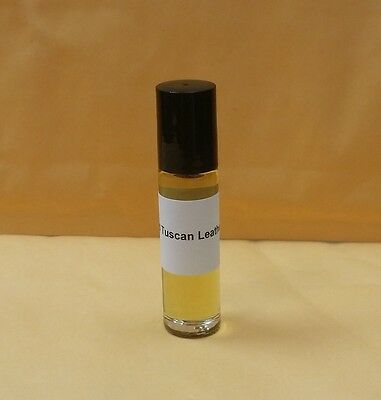 - Tuscan Leather for UNISEX Perfume Body Oil 1/3 oz 10ml Roll on Bottle Free Ship