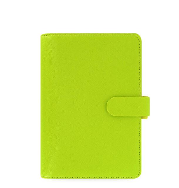 New Filofax Personal Size Saffiano Organiser Planner Diary Pear Leather - 022531
