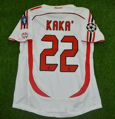 AC MILAN KAKA 2007 Champions league final jersey