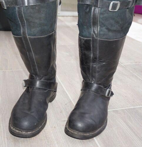 German pilot boots for aircraft crews Deutsche Luftwaffe Wilop 100% Original WW2