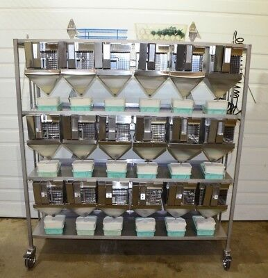 Allentown Metabolic Rodent Cage Rack Complete With Feeder Waste Water System