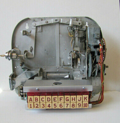 Working Seeburg 3W1 Wallbox Jukebox Back