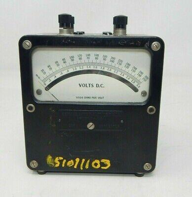 Weston Electric Instrument 931 Volt Meter