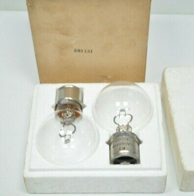 Lot Of 2 Genuine Mitutoyo Optical Comparator Replacement 12v 150w Bulbs 201131