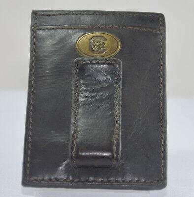 JACK MASON WALLET SOUTH CAROLINA UNI Leather MultiCard ID Holder Money Clip J58