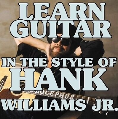 Guitar Lessons In The Style Of Hank Williams Jr. DVD Family Tradition.