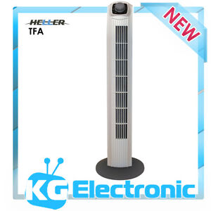 Heller TFA Basic Tower Fan - 3 speed settings & Safety fan guard